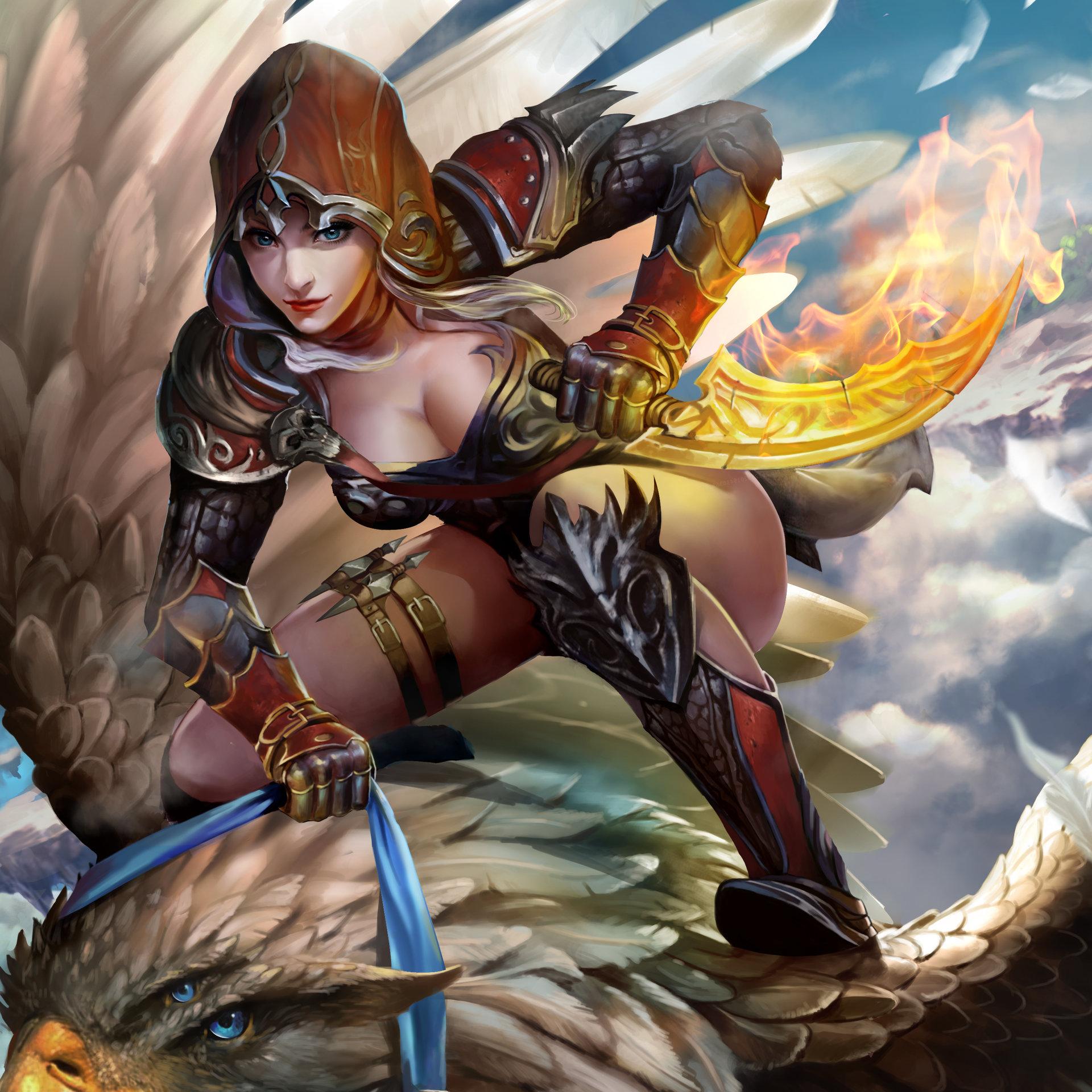 assassin Anime fantasy girl