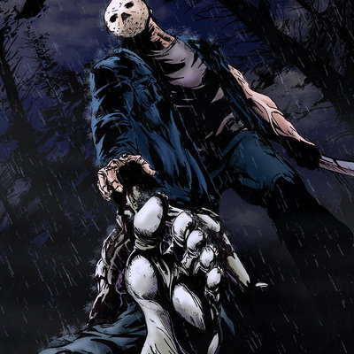 Matt james jason voorhees blue by mattjamescomicarts d77ba38