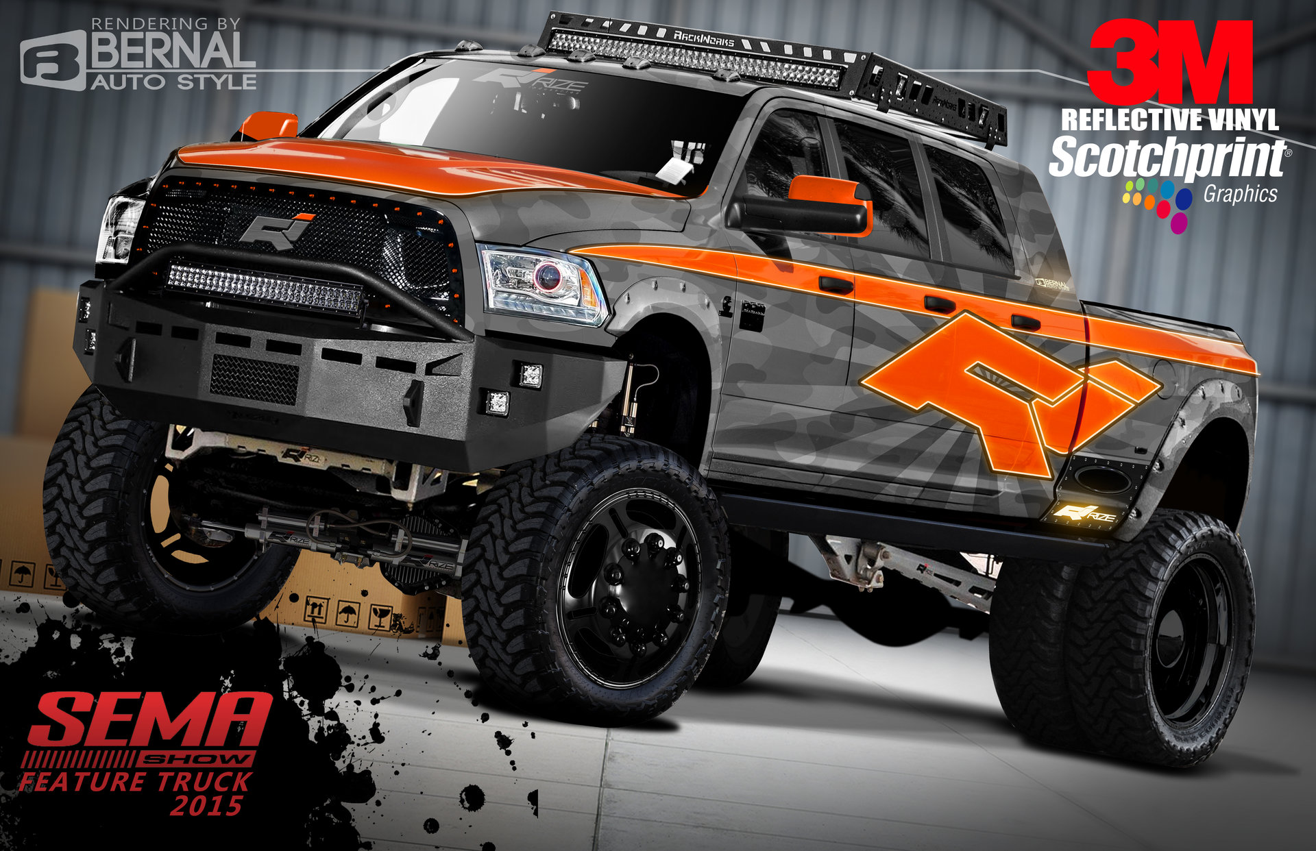 Awesome Rize 2015 Dodge Mega Cab 6 Door