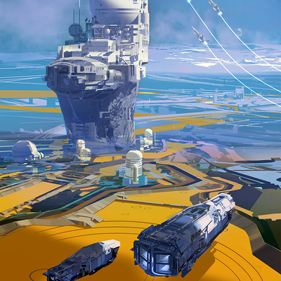 Sparth outpost arrival