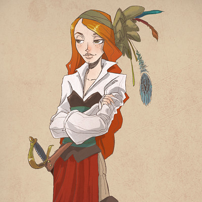 Anne quenton pirate