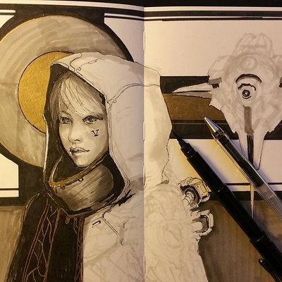 Muyoung kim sketchbook 42 wip