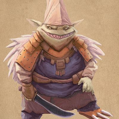 Thijs de vries goblin shaman