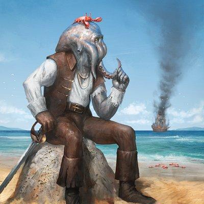 Eryk szczygiel octavian the octopus