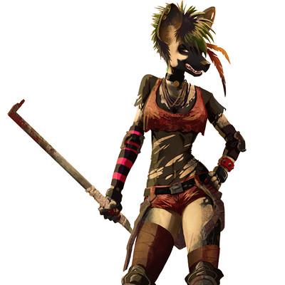 Anne quenton hyene