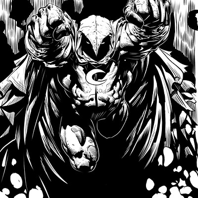 Matt james moonknight by mattjamescomicarts d9csgfl