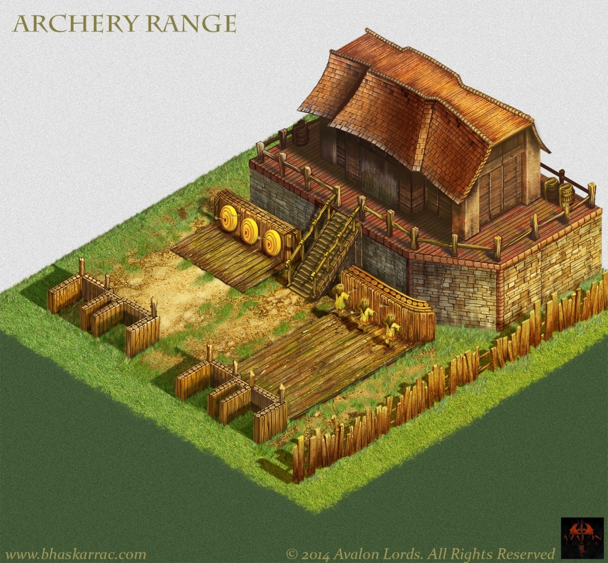 Avalon's Lord Game Concepts - Archery Concept