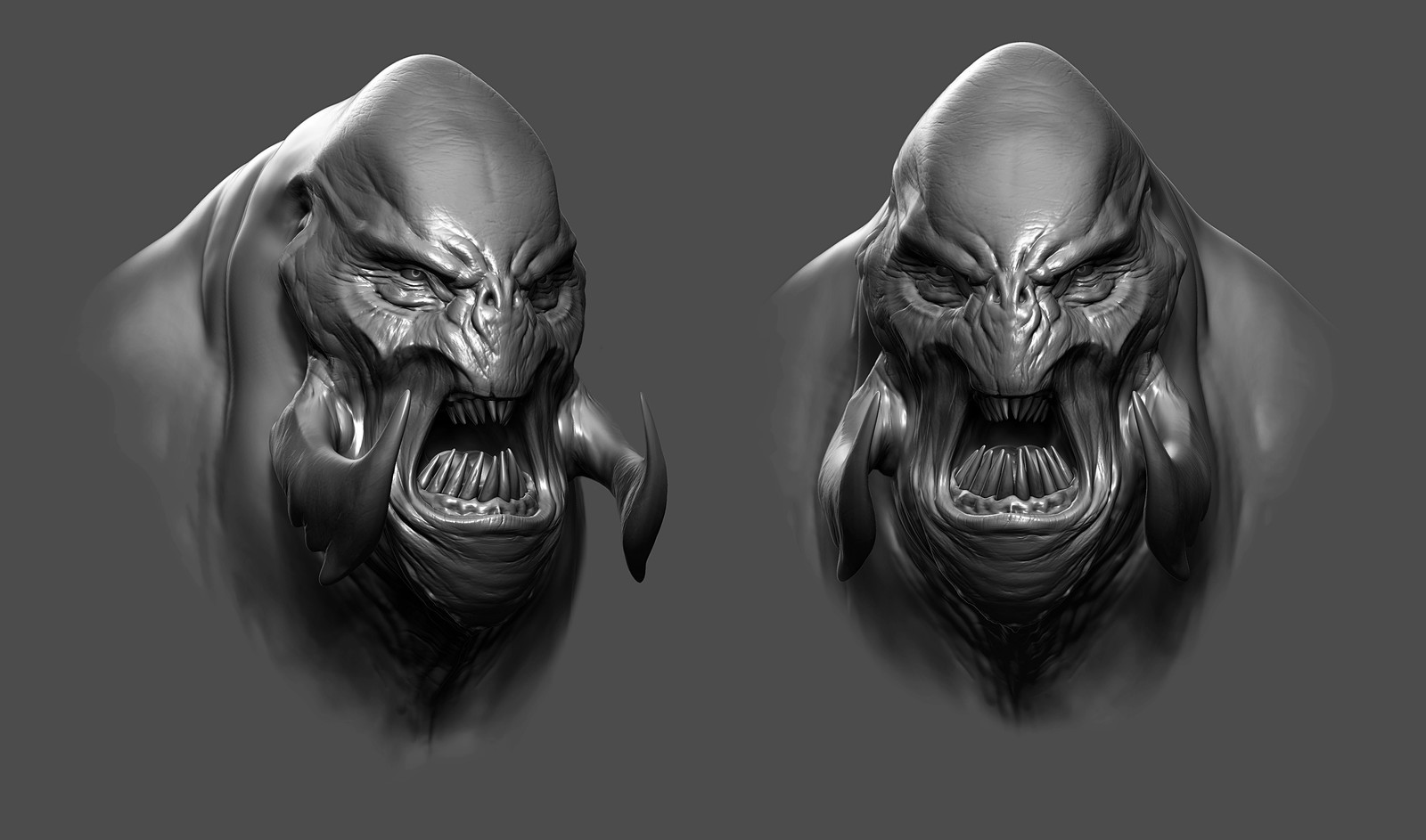 Creature Bust