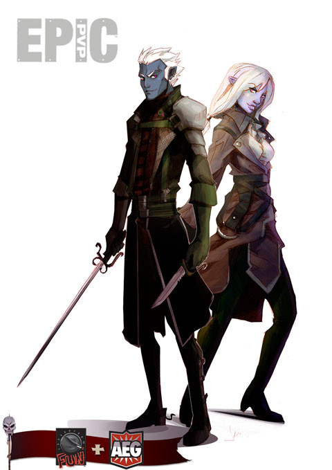 Epic PVP: Dark Elf race