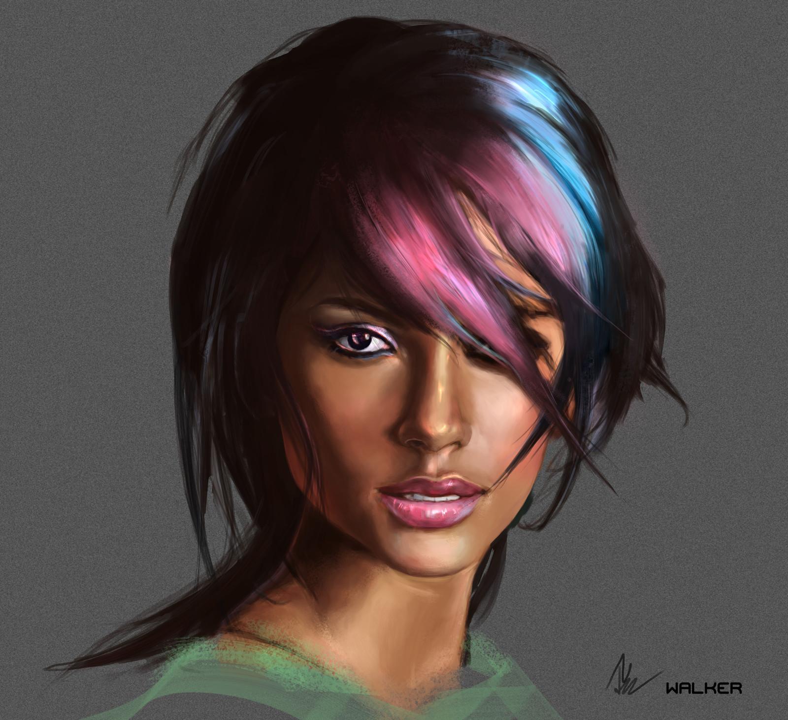 Emmanuela De Paula - Portrait Study