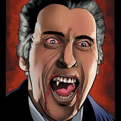 Matt james dracula by mattjamescomicarts d9d9tlc