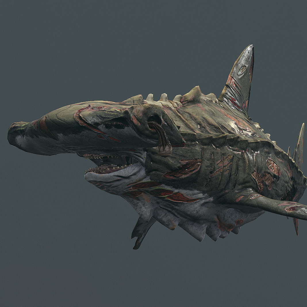 DEPTH: Old Bones DLC Shark