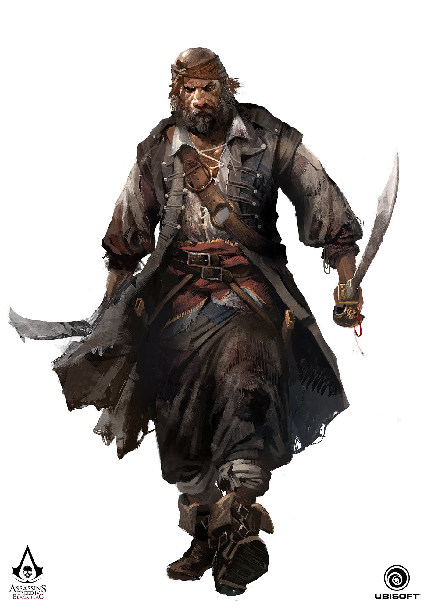 Artstation Assassin S Creed Iv Black Flag Character Concept