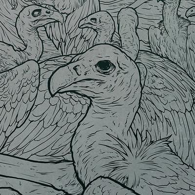 Sadan vague vultures by sadania d88jp9s1