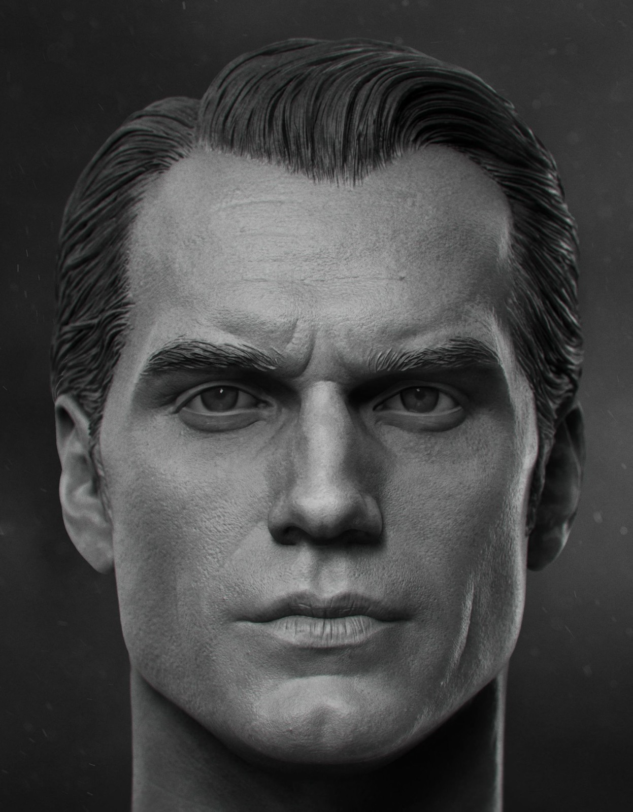 Henry Cavill - 1/6th Head Sculpt