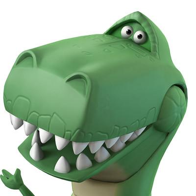 B allen disney infinity rex ballen sm