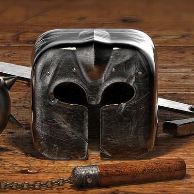 Tomislav zvonaric knight helmet icon dribbble