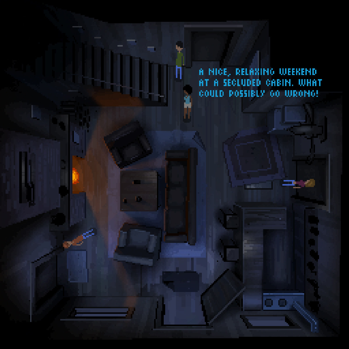 4 Player Co-op Horror Survival Point & Click Adventure Game!