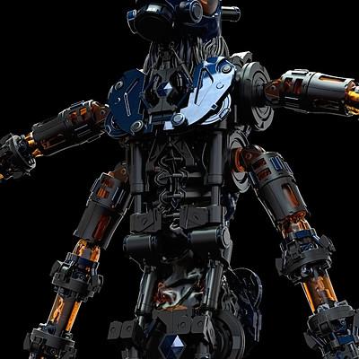Sergio acevedo ruiz robot2 render 2
