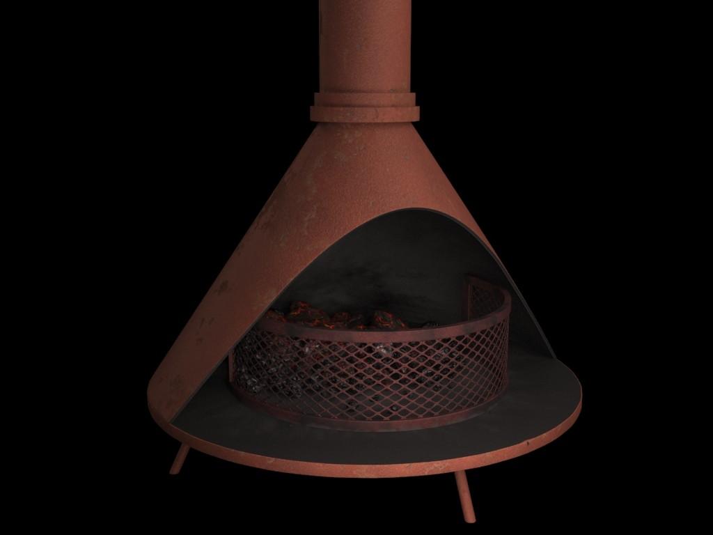 inés naiberger fireplace prop for