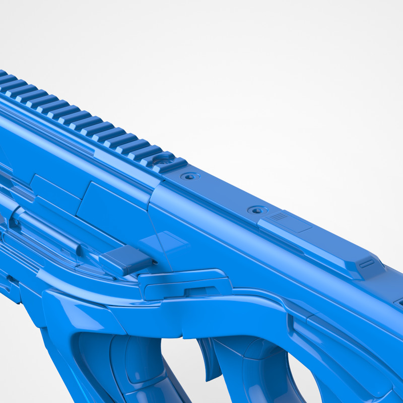 AUAF Peacekeeping Rifle (High Poly)