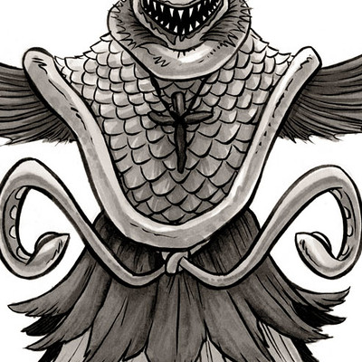 Diana nock cryptid seamonk