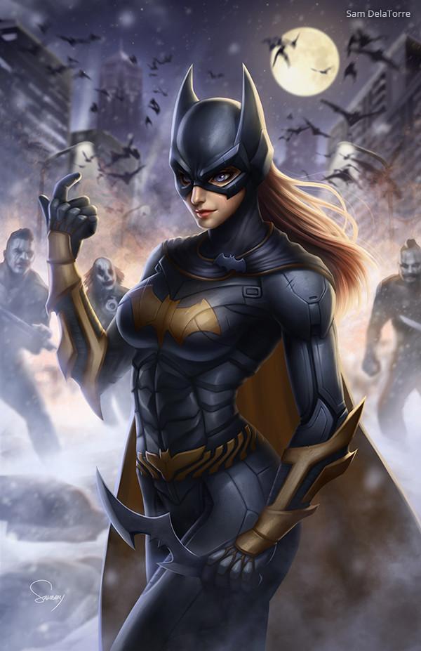 ArtStation - Batgirl, Sam DelaTorre