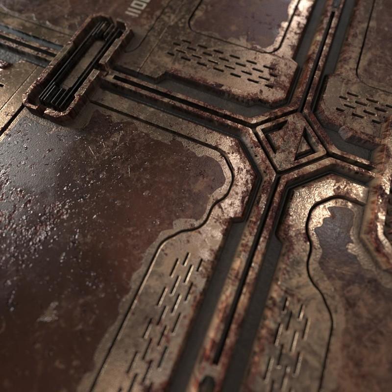 Spaceship floor