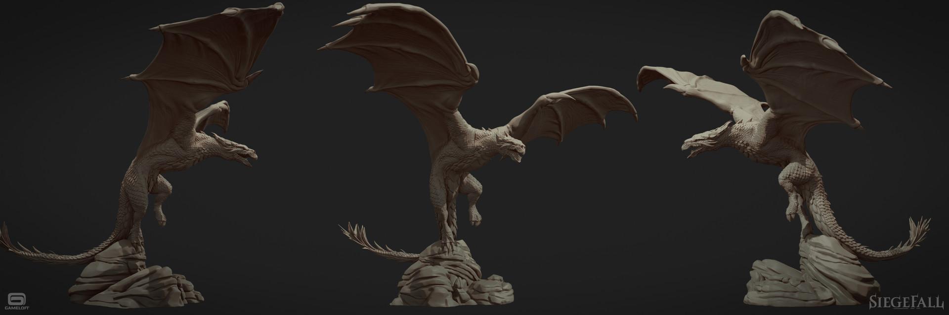Siegefall - dragon
