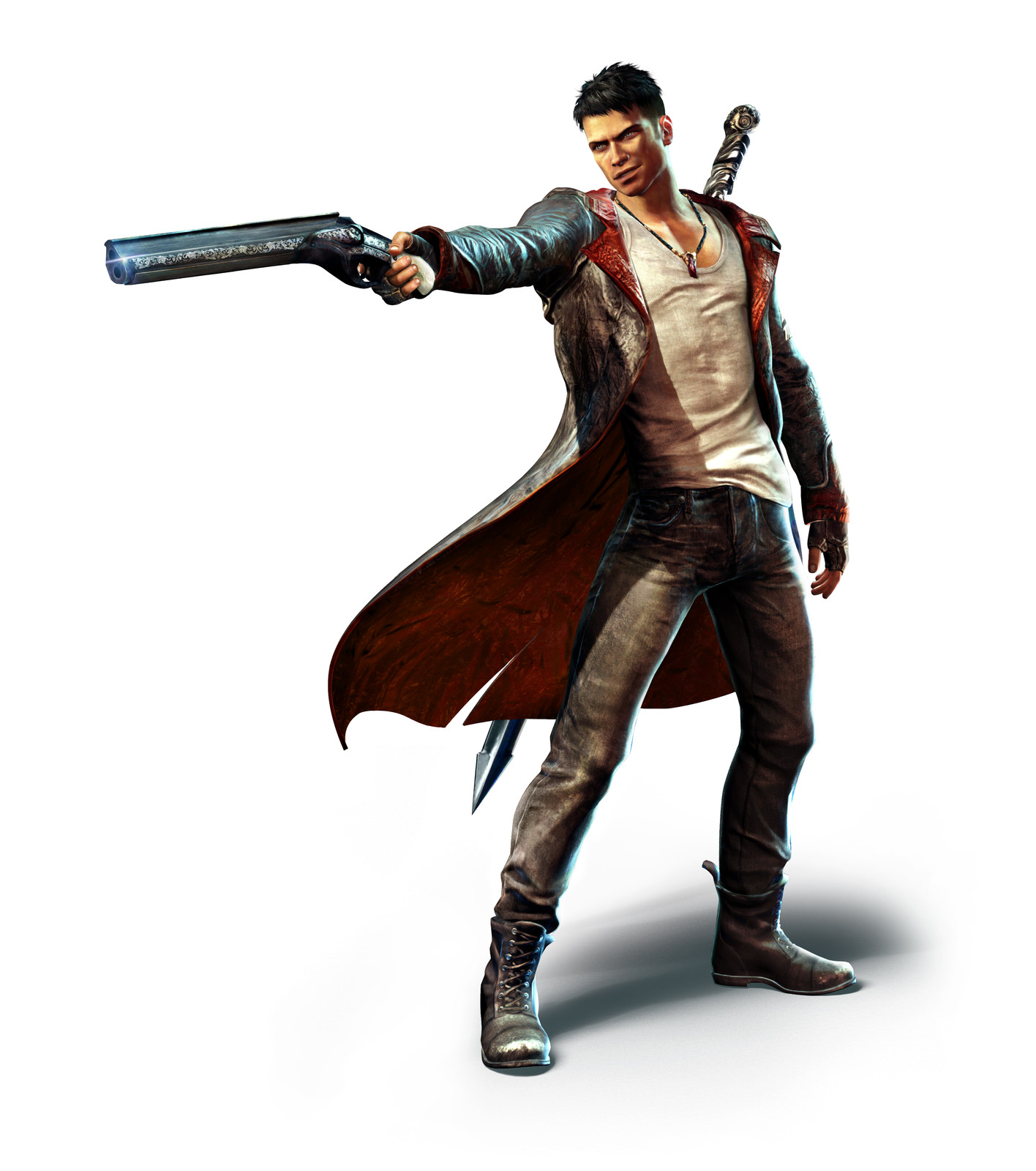 DmC: Dante with Shotgun Marketing Render