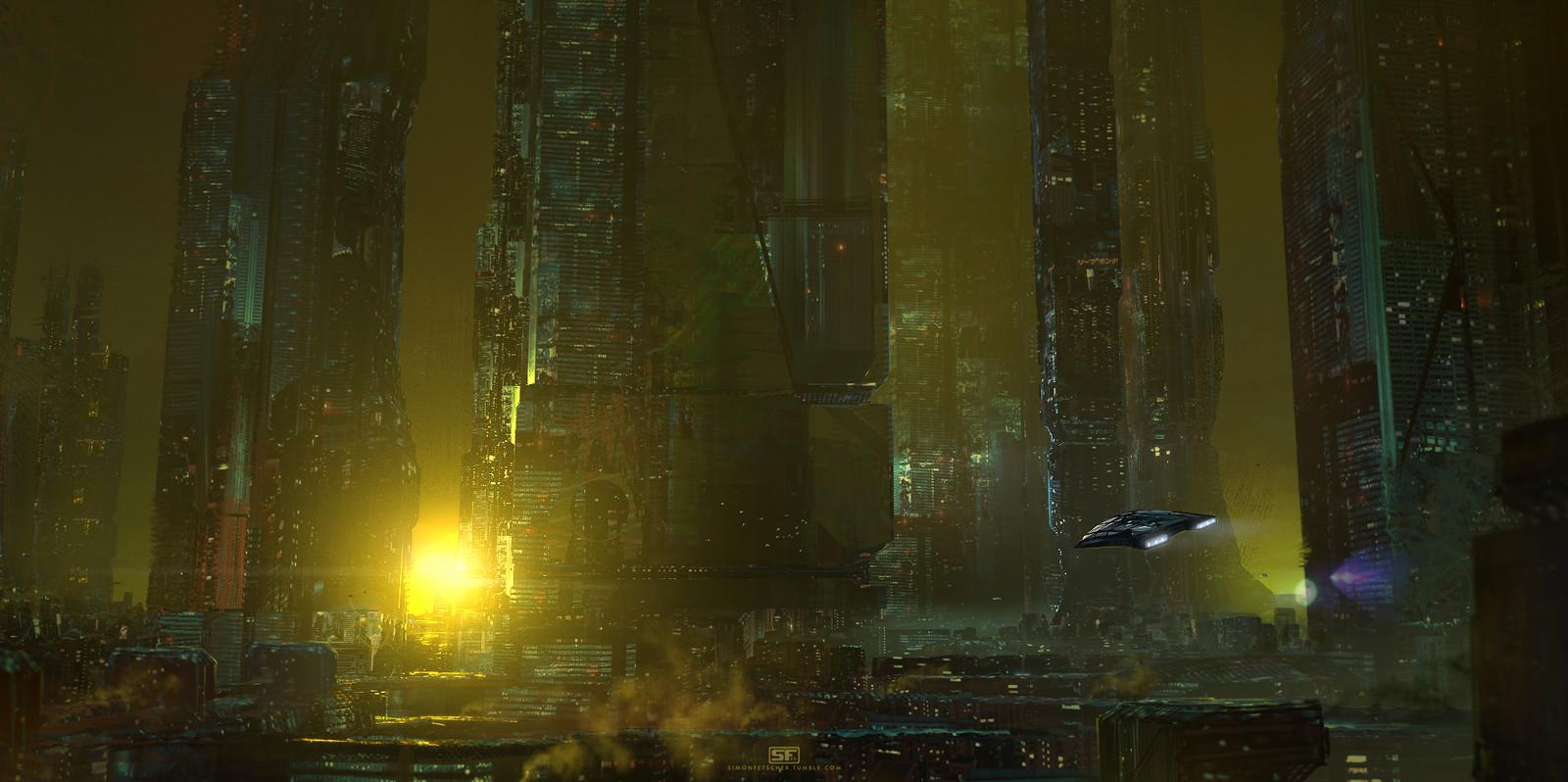 Dystopian Megacity