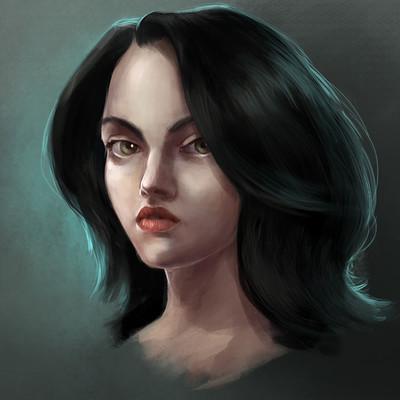 Lesta danica girl s portrait