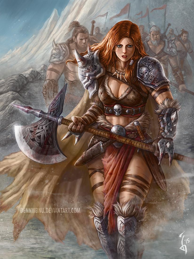 warriors Barbarian women