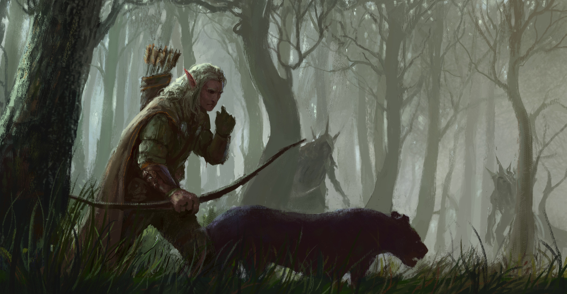 eugene pidhainyi elven hunter