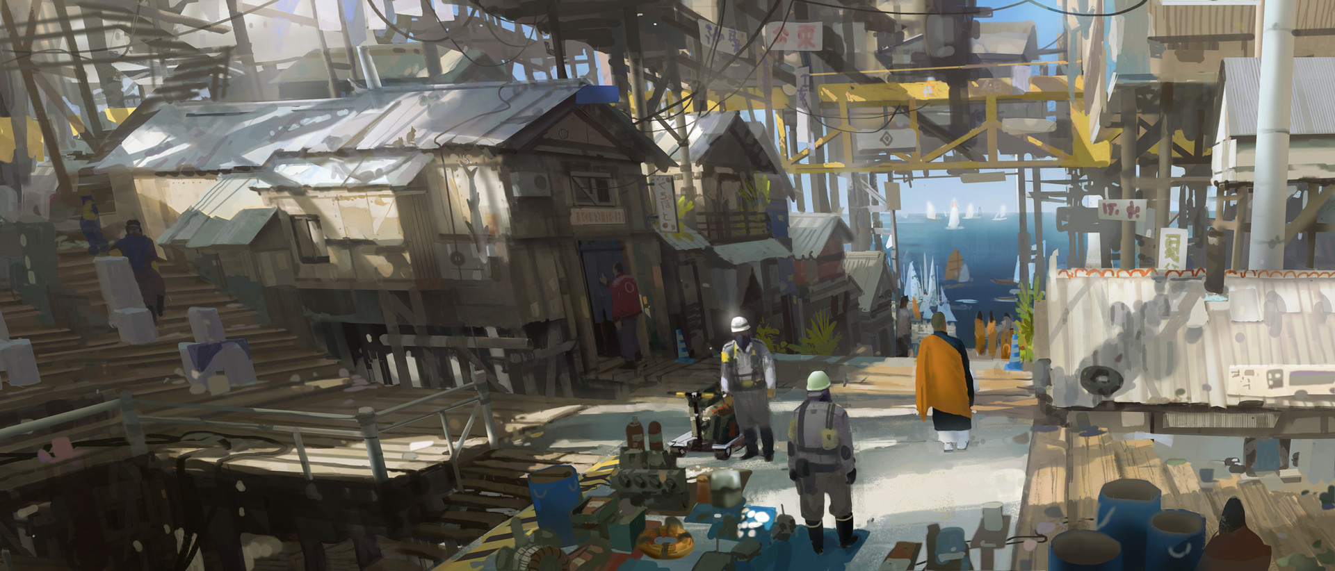 Post-collapse Village