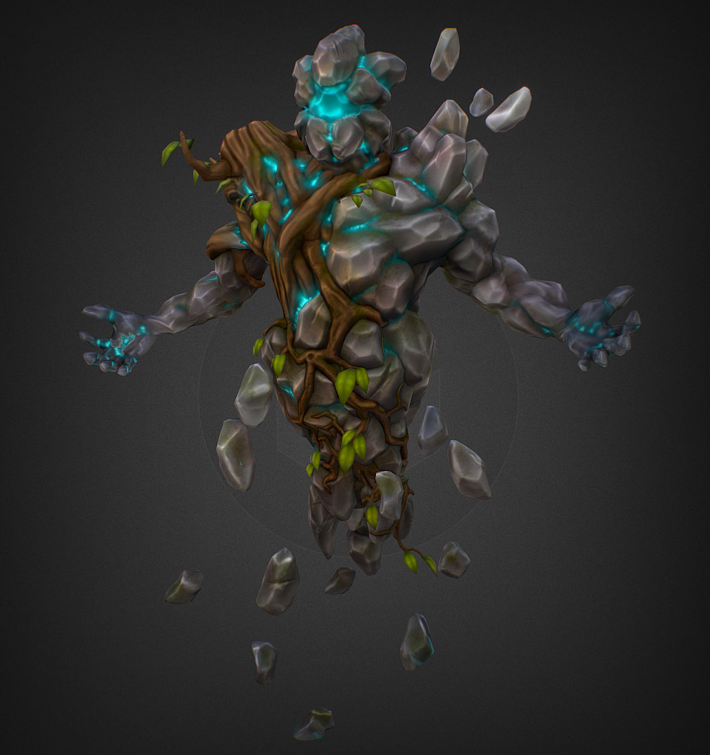 artstation - earth elemental - jahun., martin prestegaard lehnsdal