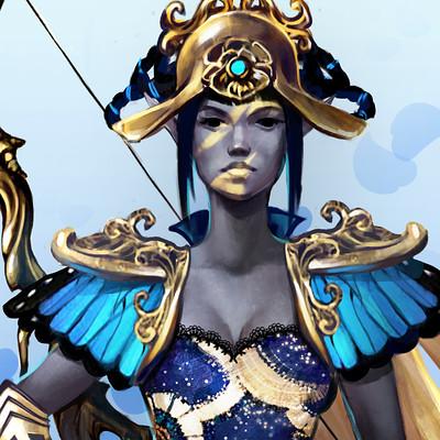 Lesta danica blue elf costume 15 5