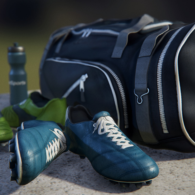 Boots & Sportsbag