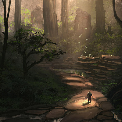 Chirag tripathy forest trolls s