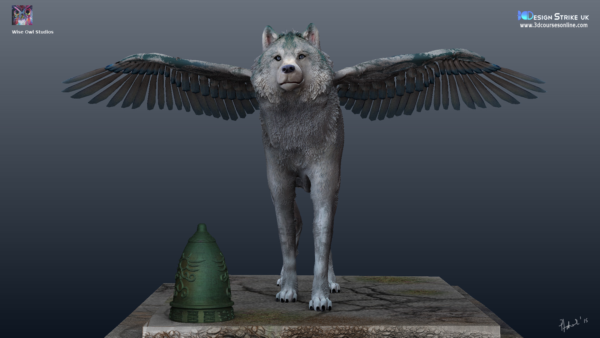 Paul Hadcock Winged Wolf Games Model
