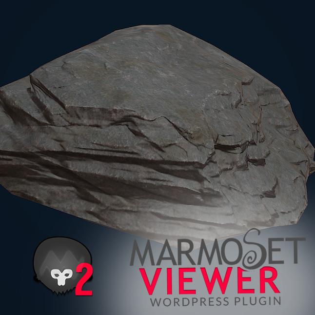 more rocks! Zbrush and Marmoset!