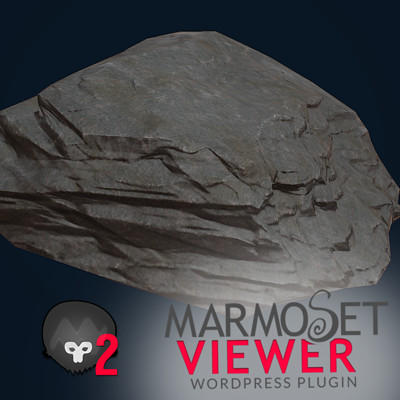 more rocks! Zbrush and Marmoset!