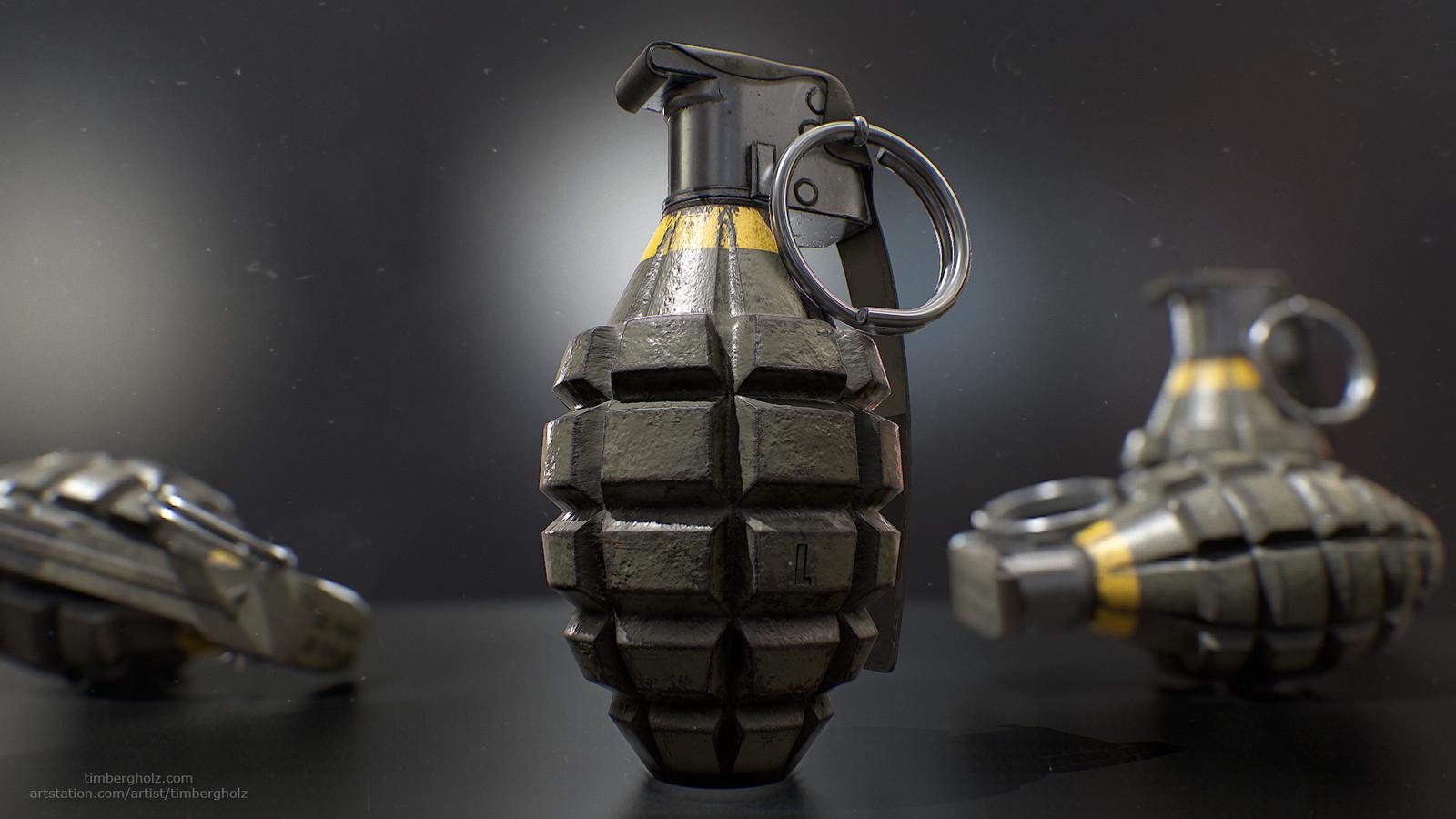 "MK2 ""Pineapple"" Grenade"
