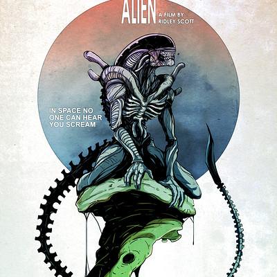 Vicente valentine alien poster final3