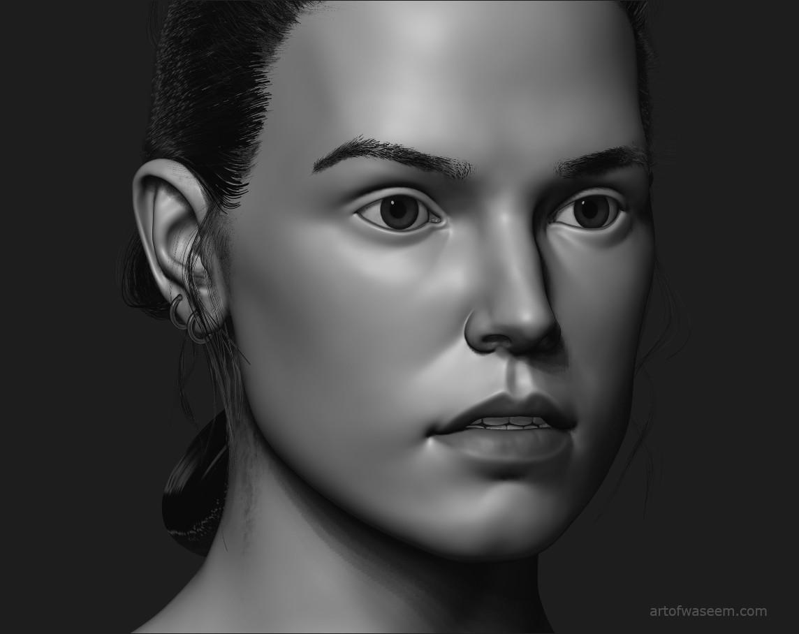Daisy Ridley.