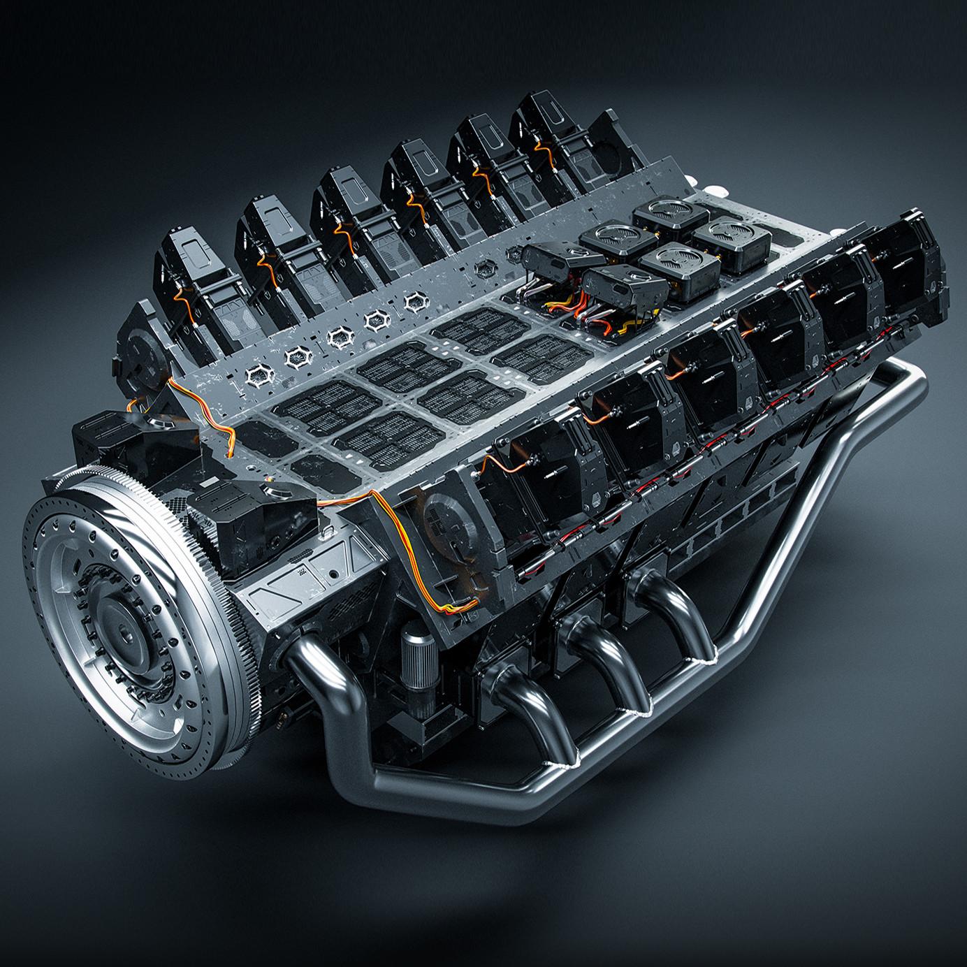 Sci-Fi Engine #1