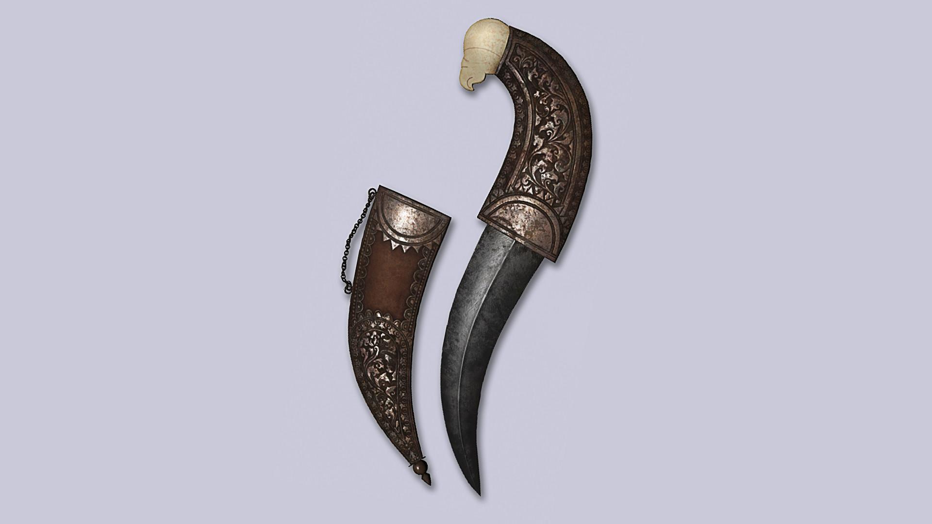 Anoop Jaiswal Dagger Jambiya Procedural Texture