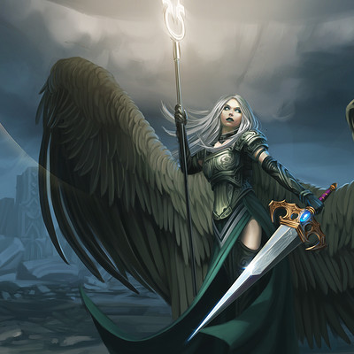 Eric geusz avacyn angel of vengeance
