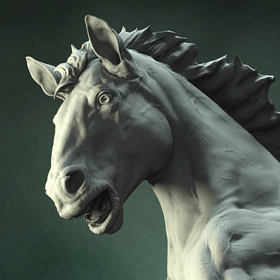 Gael kerchenbaum horse 006 clayld