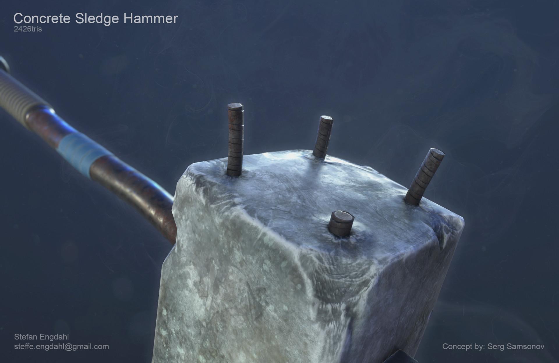 Concrete Sledge Hammer